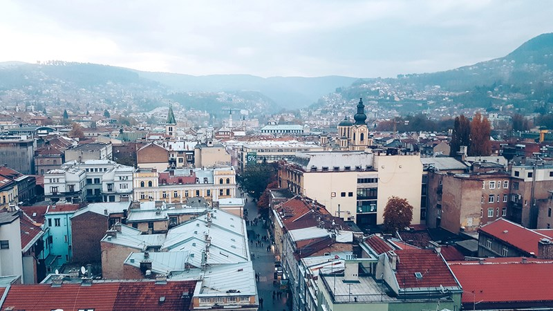 Panorama Sarajeva, 23.11.2016. © Boris Trapara
