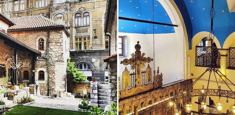 Kompleks Stare pravoslavne crkve sv. Arhangela Mihaila i Gavrila na Baščaršiji, Sarajevo, 04.04.2016. ©Boris Trapara