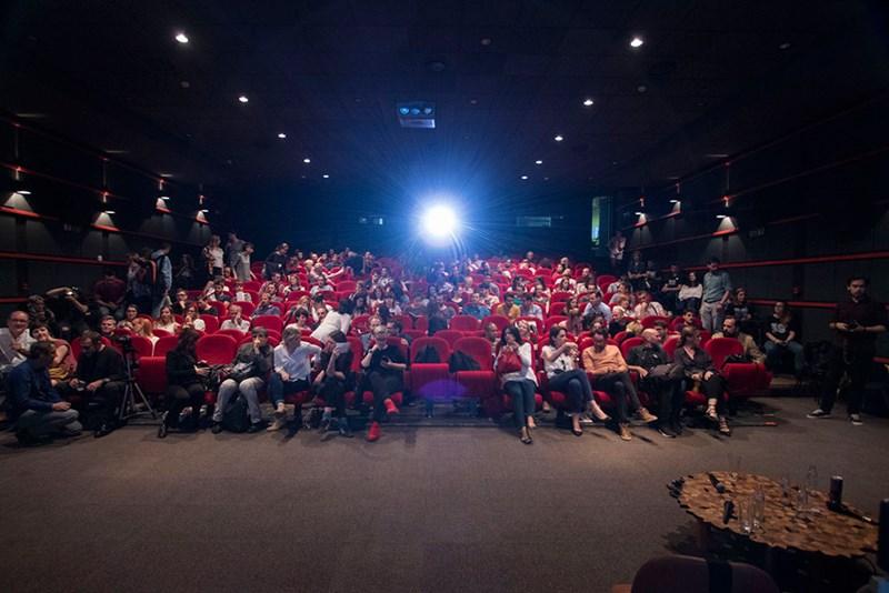Publika u kinu Meeting Point  ©LIFT - prostorne inicijative