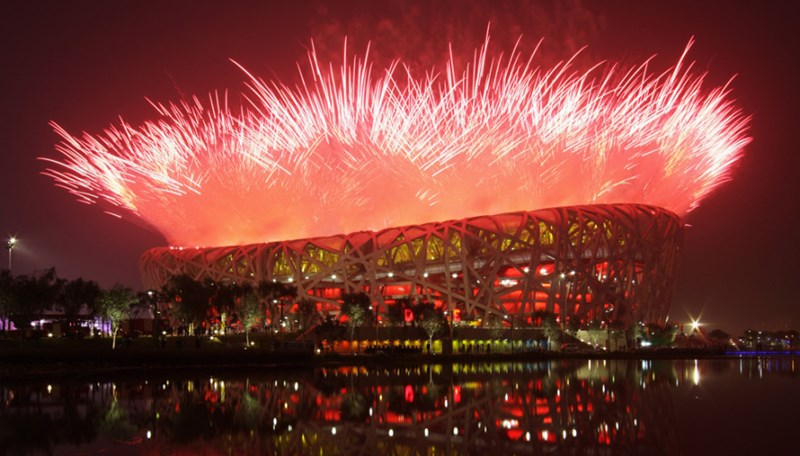 Otvaranje Olimpijskih igara u Pekingu 2008. godine ©https://therealsouthkorea.files.wordpress.com/2008/08/fireworks-explode-over-the-national-stadium-during-the-opening-ceremony-for-the-beijing-2008-olympic-games.jpg?w=900
