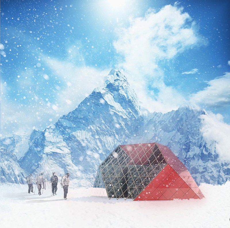 Tent House - Himalajska planinska koliba, Himalaji, Nepal  ©Filter arhitektura