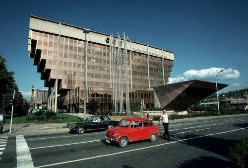 Zgrada Elekroprivrede BiH (1978.) ©Arhiv Elektroprivrede