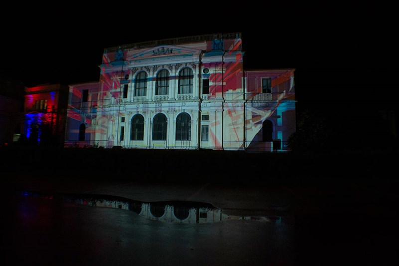 Videomapping Zemaljskog muzeja ©LIFT - prostorne inicijative
