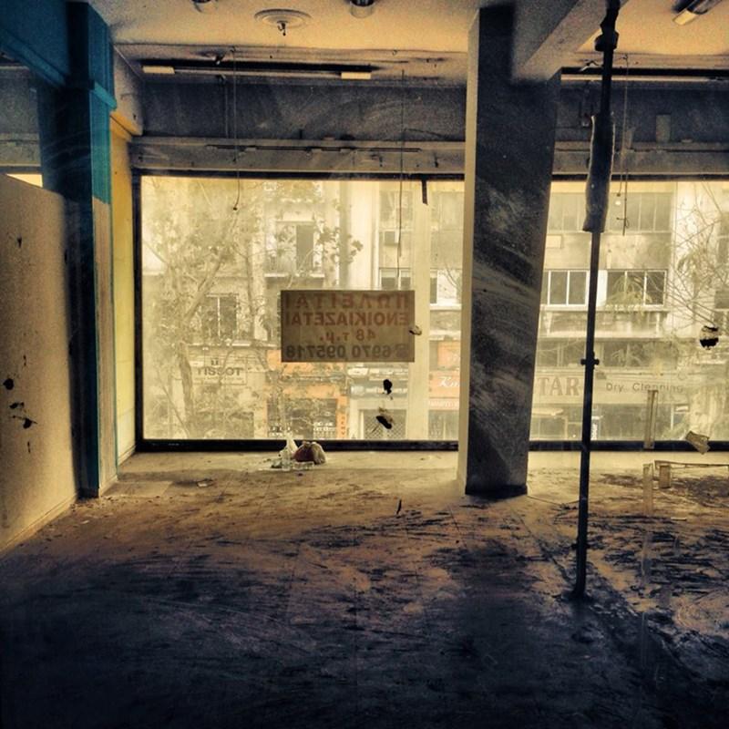 Panepistimiou 64_shop window ©Dimitris Athinakis