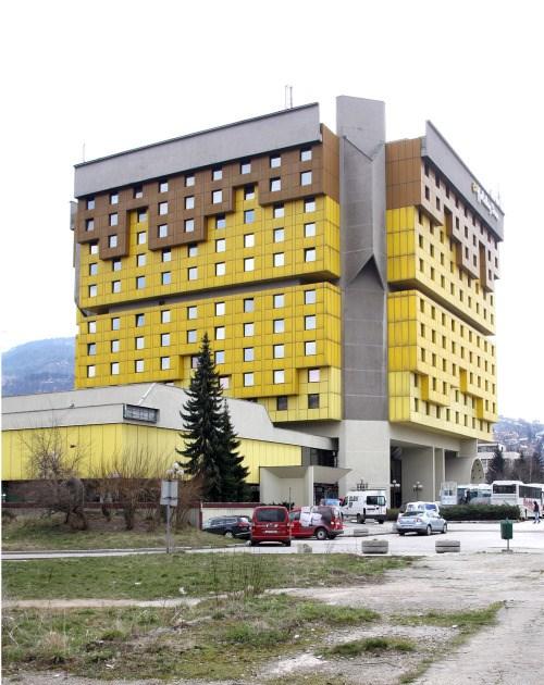 Hotel Holiday Inn (1983.) bio je ratno sjedište stranih reportera ©Zoran Kanlić (2015.)