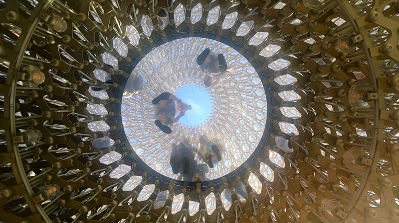 United Kingdom Pavilion, Milan Expo, Wolfgang Buttress © Aleksandra Crnobrnja Ivanković