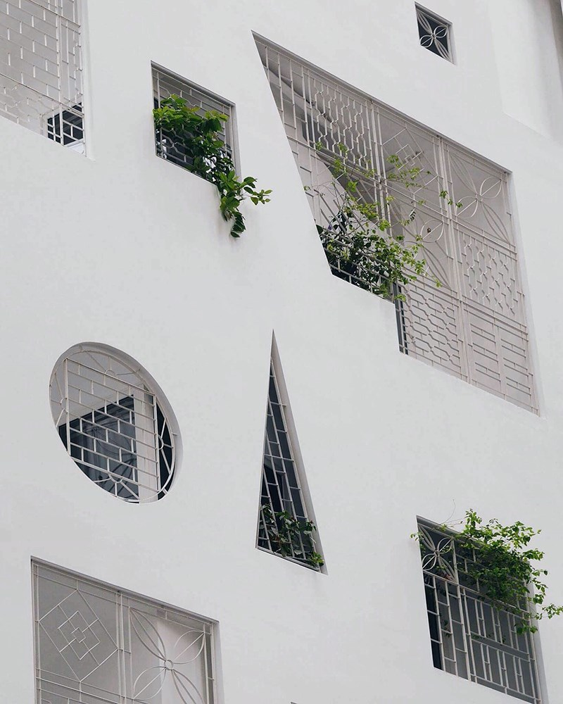 Residential Building, Ho Chi Minh City, Vietnam © Emina Rakić