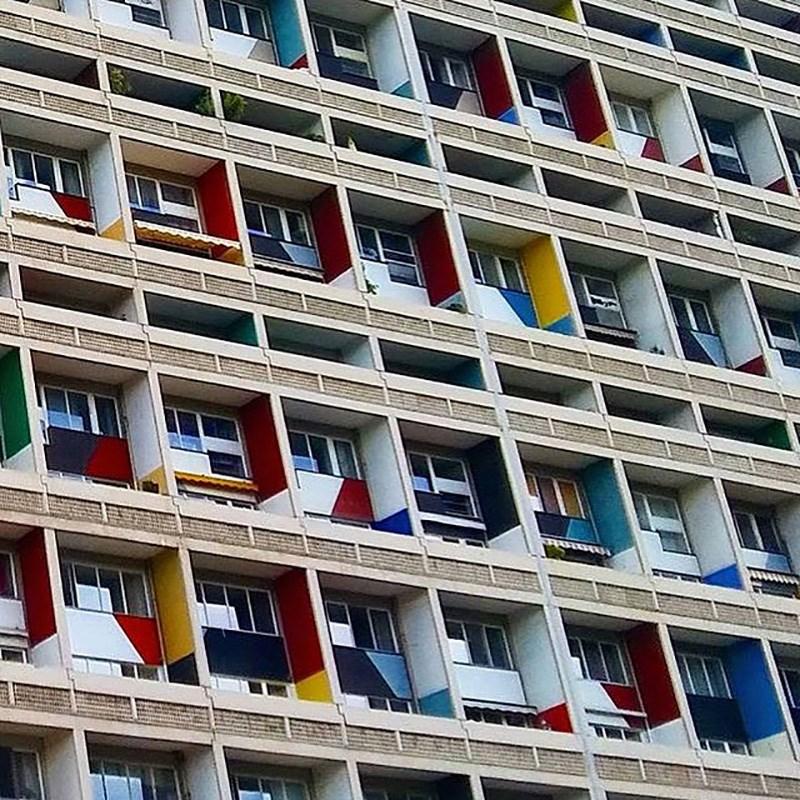 Unité d' Habitation, Berlin_Le Corbusier ©Amina Dropić