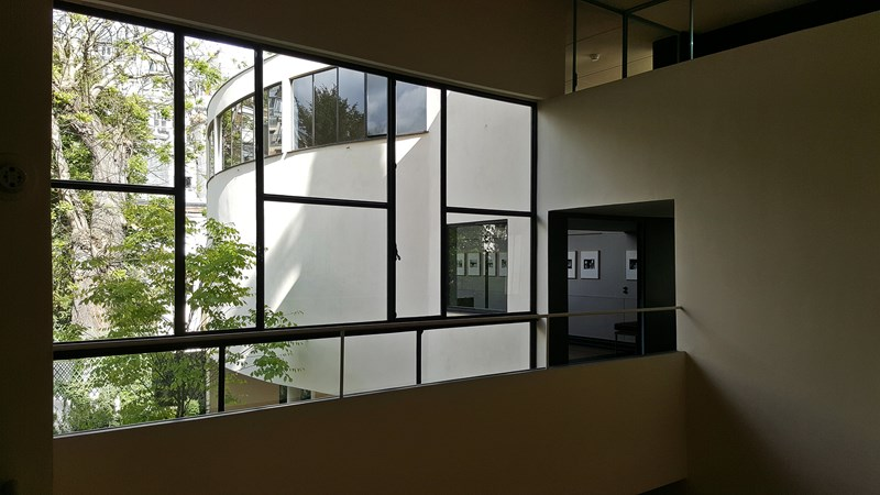 Maison La Roche, centralni hol, 26. april 2017. ©Boris Trapara