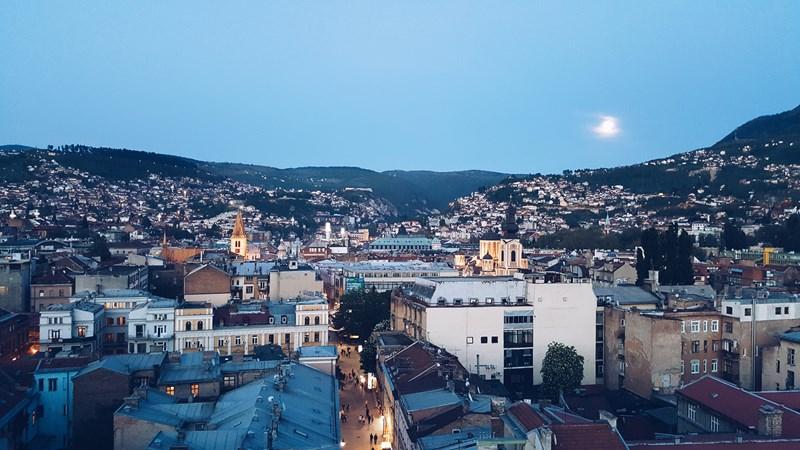 Panorama Sarajeva, 15.03.2014. ©Boris Trapara