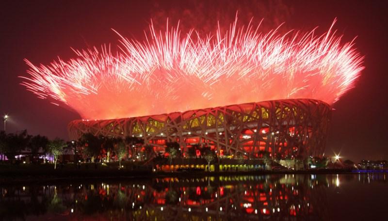 Otvaranje Olimpijskih igara u Pekingu 2008. godine ©https://therealsouthkorea.files.wordpress.com/2008/08/fireworks-explode-over-the-national-stadium-during-the-opening-ceremony-for-the-beijing-2008-olympic-games.jpg?w=900