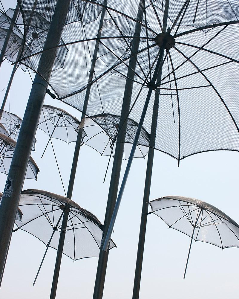 Umbrellas, Giorgios  Zoggolopoulos ©Martina Penava