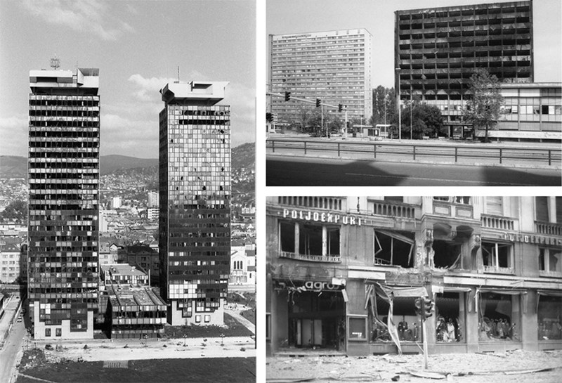 Uništenje Sarajeva ©Zoran Kanlić (1993.-1994.)
