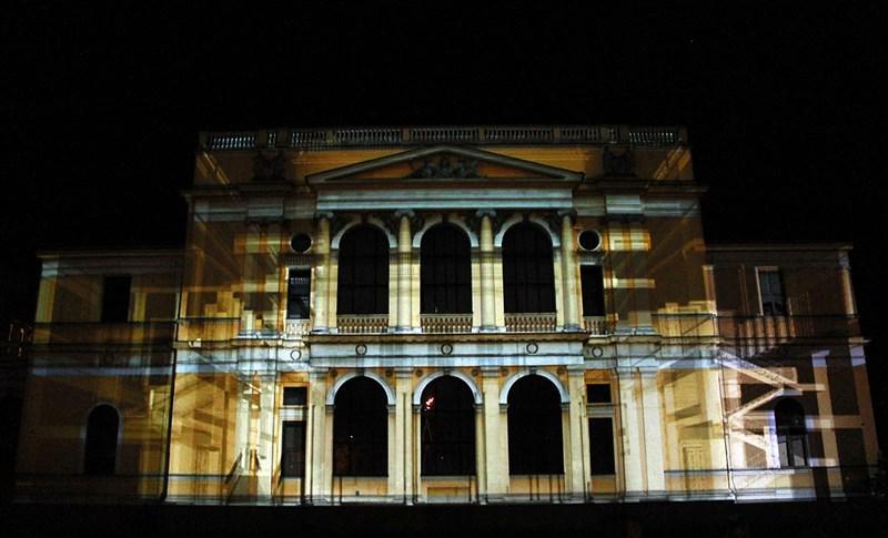 Video - mapping na fasadi Zemaljskog muzeja © LIFT - prostorne inicijative