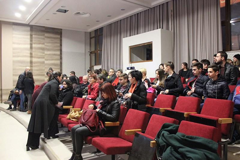 Foto: Pred predavanje © Martina Penava