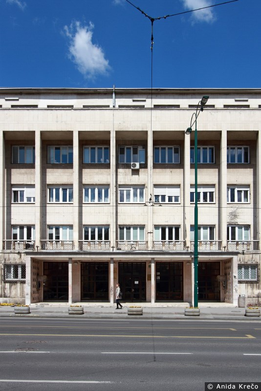 Higijenski zavod Sarajevo/ Projektant: Tihomir Ivanović, 1950. © Anida Krečo