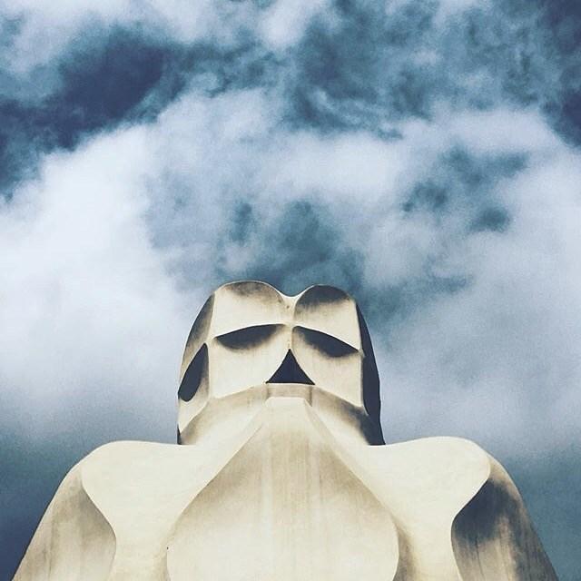 La Pedrera / Casa Mila / Antonio Gaudi ©Dunja Krvavac