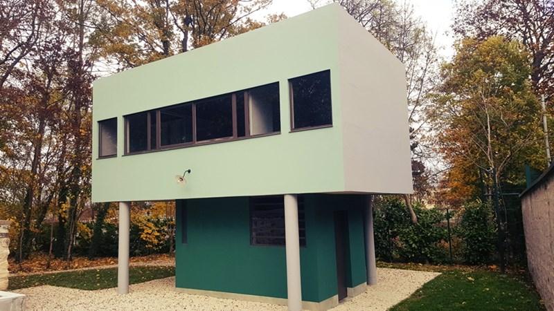 Kuća za baštovana koja se nalazi u sklopu kompleksa vile Savoye, 17. novembar 2016., foto: Boris Trapara