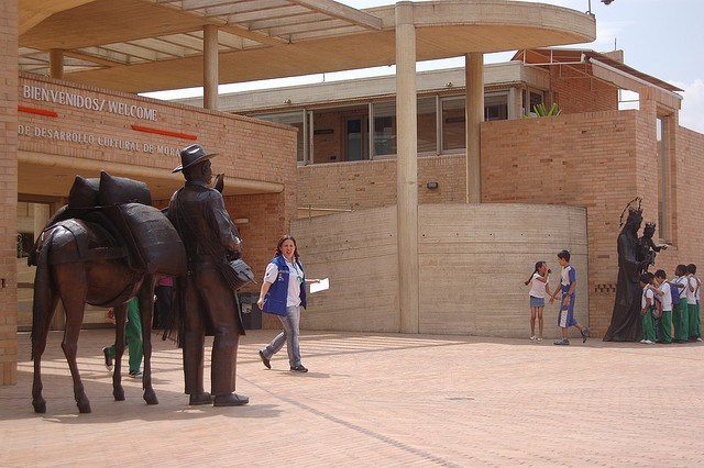 Moravia kulturni centar: pozicija i arhitektura http://discovercolombia.com/moravia-cultural-development-center-2/