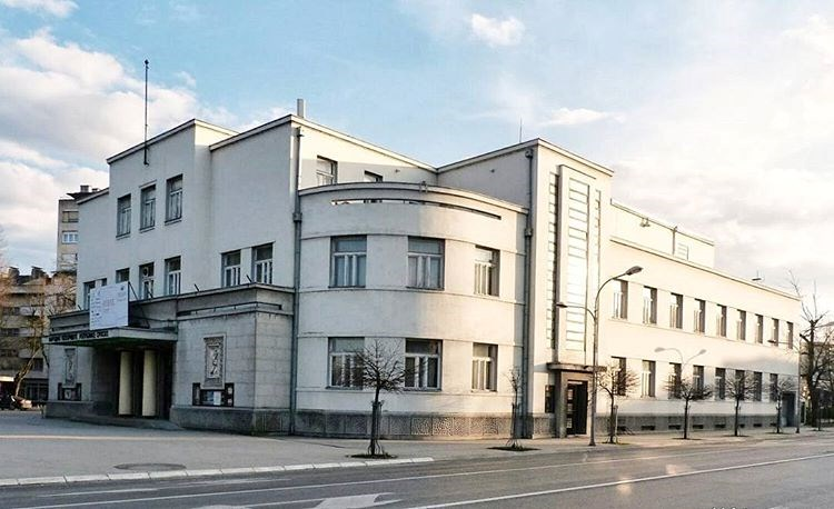 Banja Luka/ Narodno pozoriste/ Projektant: Josif Goldner/1934./