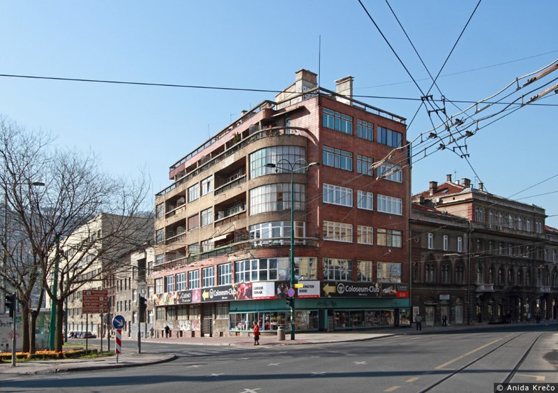 Penzioni fond Sarajevo/ Projektanti: Reuf i Muhamed Kadic, 1940-1943. © Anida Krečo