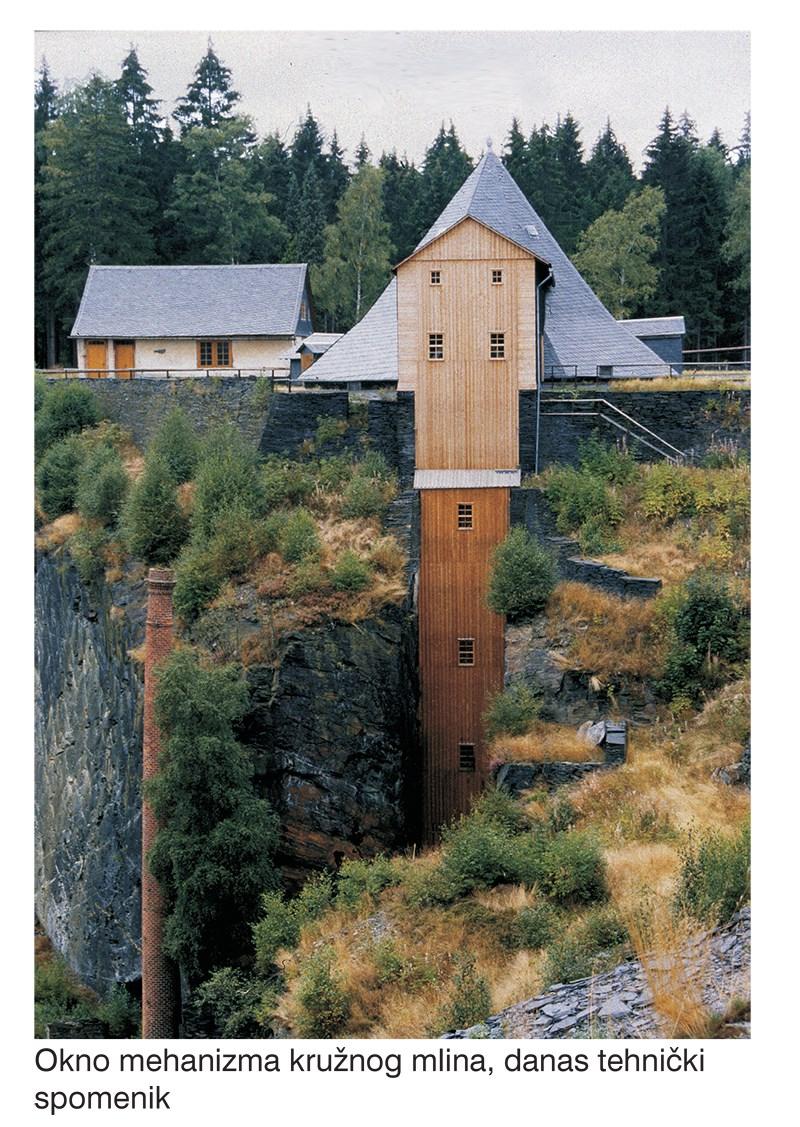 "Rudnik Lehesten - Park škriljevca,  iz izložbe "" Neuer Nutzen in alten Industriebauten "" © Dario Kristić"