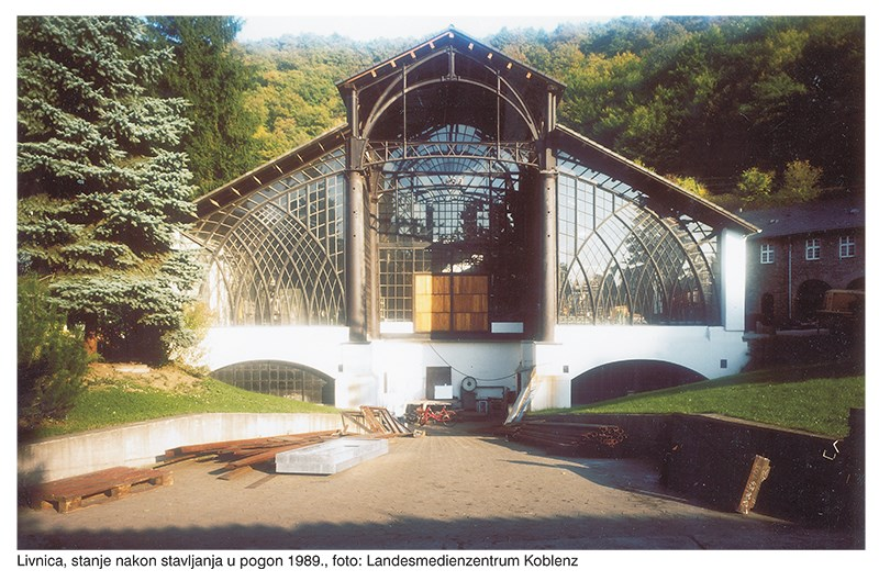 "Željezara Sayn; iz izložbe "" Neuer Nutzen in alten Industriebauten "" original foto: Landesmedienzentrum Koblenz © Dario Kristić"