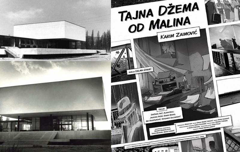 """Historijski muzej Bosne i Hercegovine u Sarajevu, izvor: Superprostor/ Plakat za predstavu """"Tajna džema od malina"""", izvor: SART"""