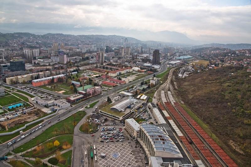 Željeznička stanica Sarajevo © Marco Fieber