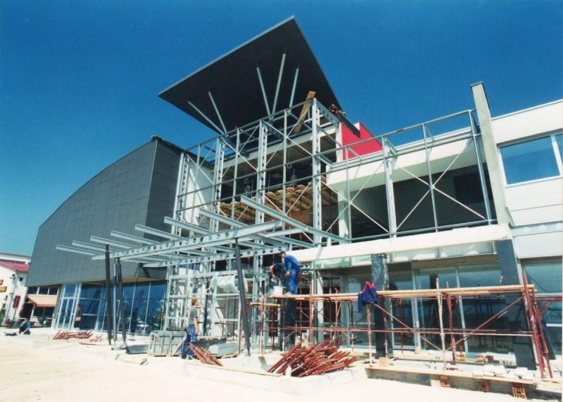 GMS centar Vitez u izgradnji ©Entasis