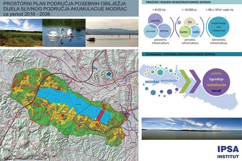 Prostorni plan područja posebnih obilježja djela slivnog područja akumulacije Modrac 2015-2035. godine, Modrac, TZ kanton