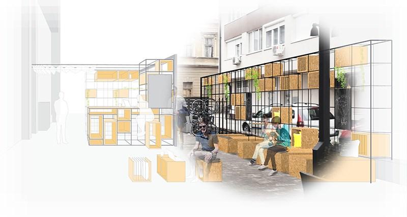 Idejno rješenje parternog prostora Smart Office Coworking, Banja Luka