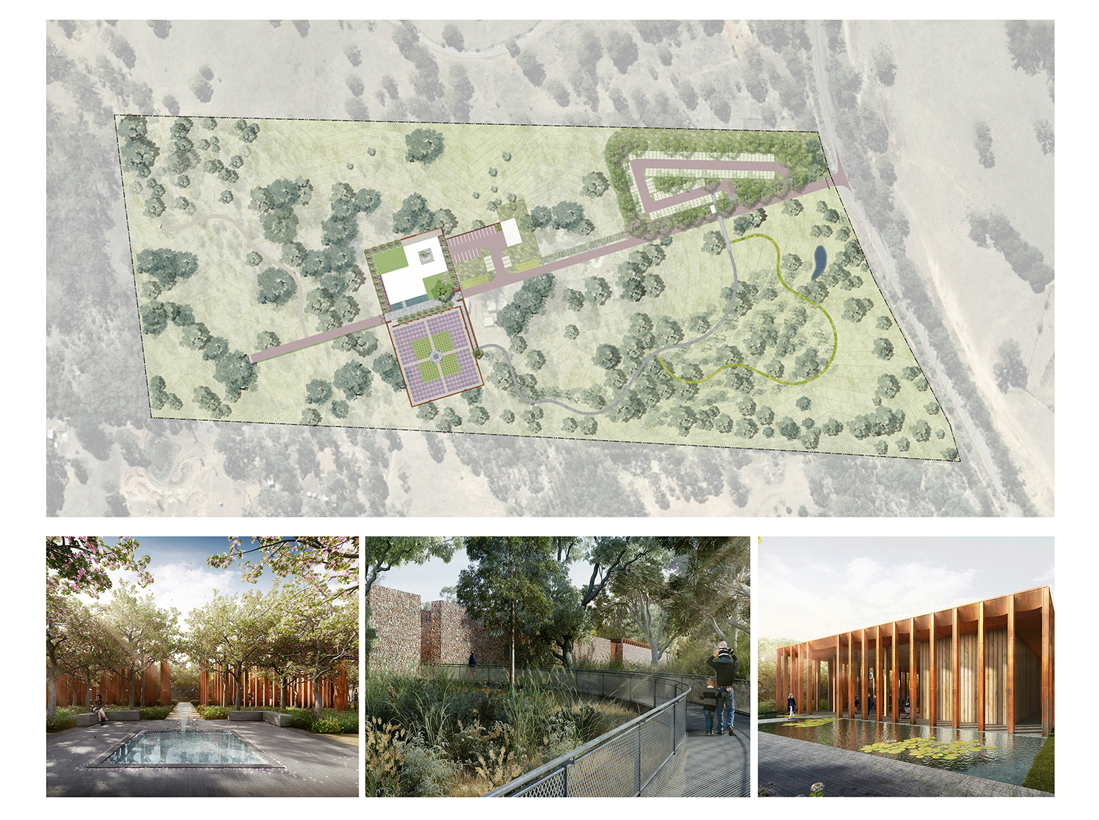 Prijedlog dizajna groblja u Sidneju - CHROFI & McGregor Coxall (preuzeto sa: www.archdaily.com)